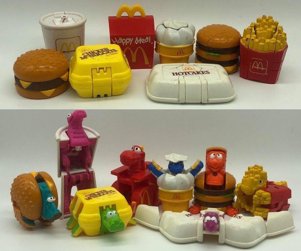 Why McDonald's Changeables Are the Best Happy Meal Toys of
