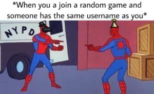spiderman pointing meme among us - Good/Bad Marketing